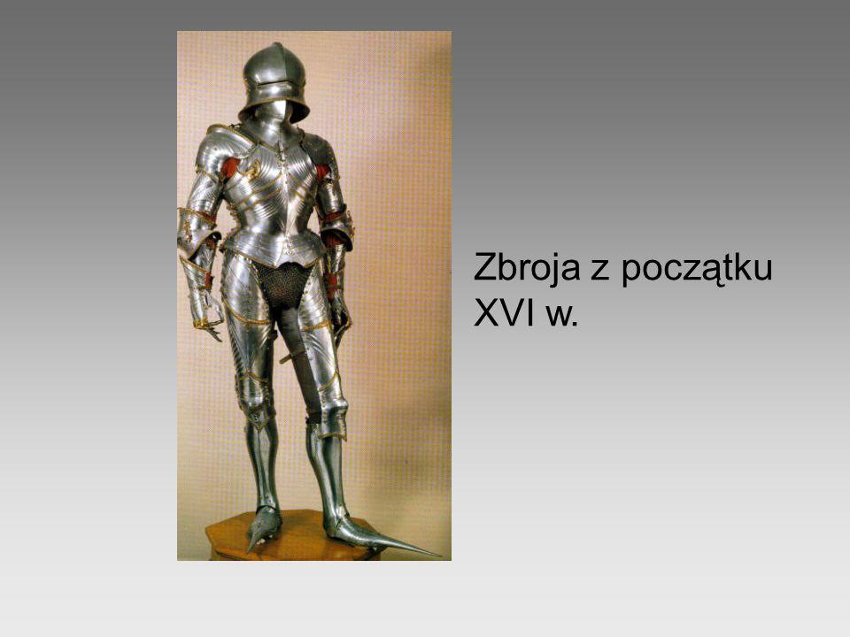 Zbroja z początku XVI w.