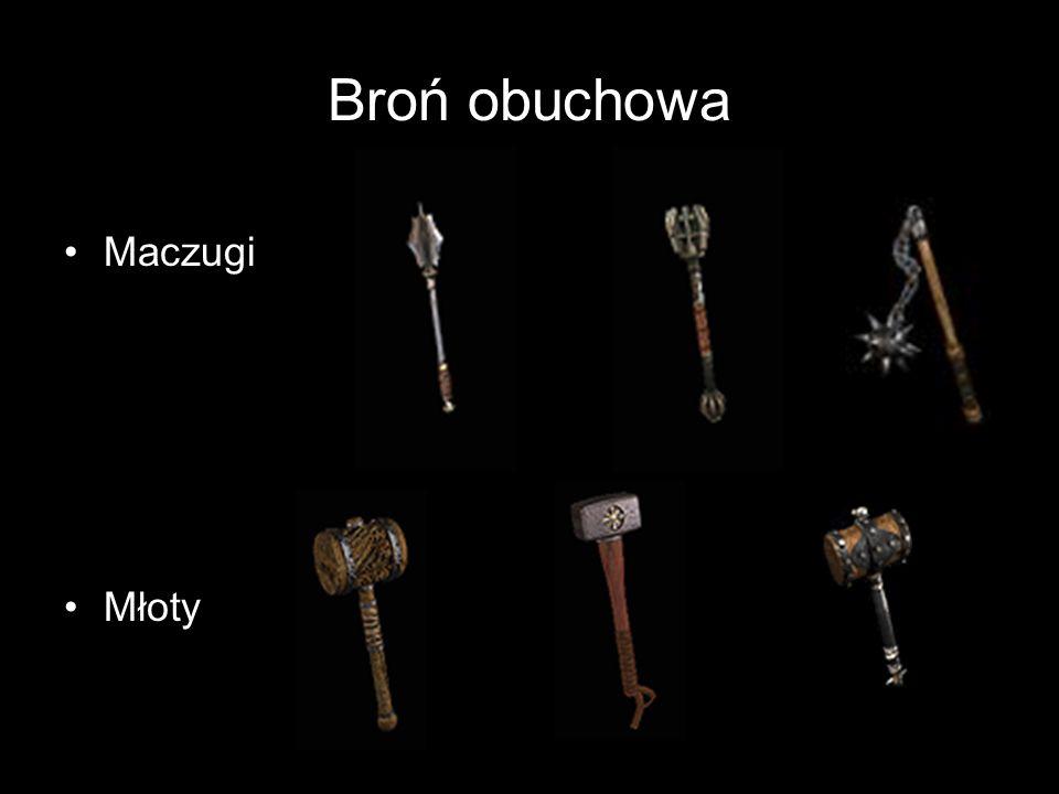 Broń obuchowa Maczugi Młoty