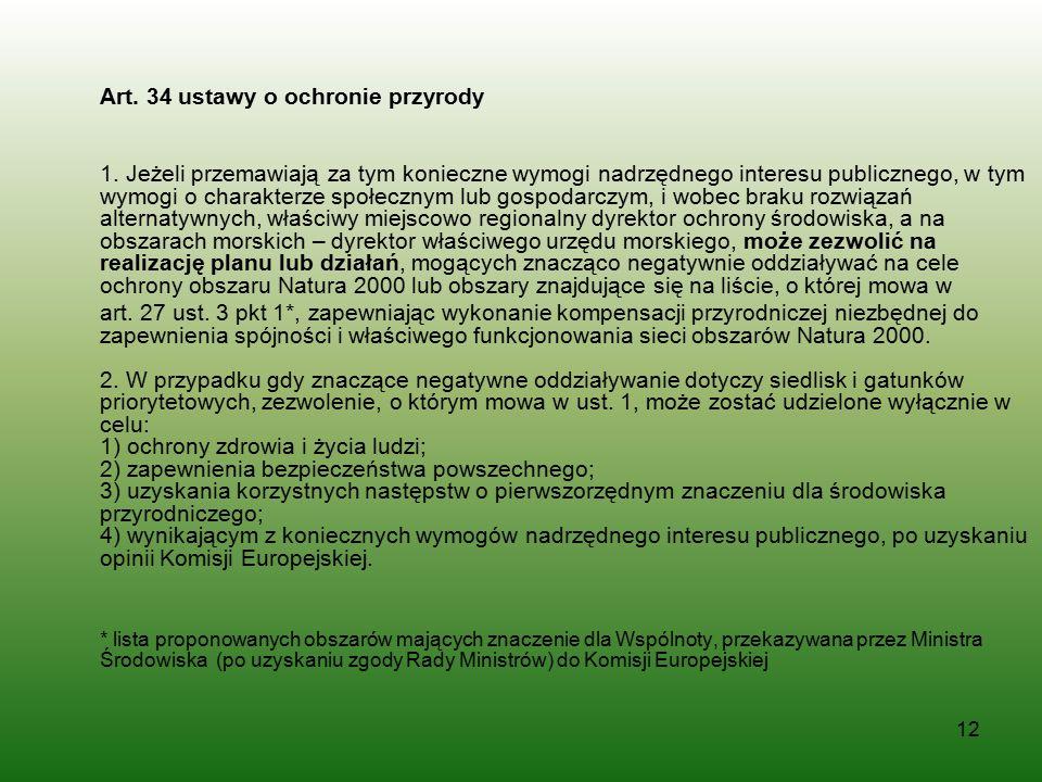 Art. 34 ustawy o ochronie przyrody