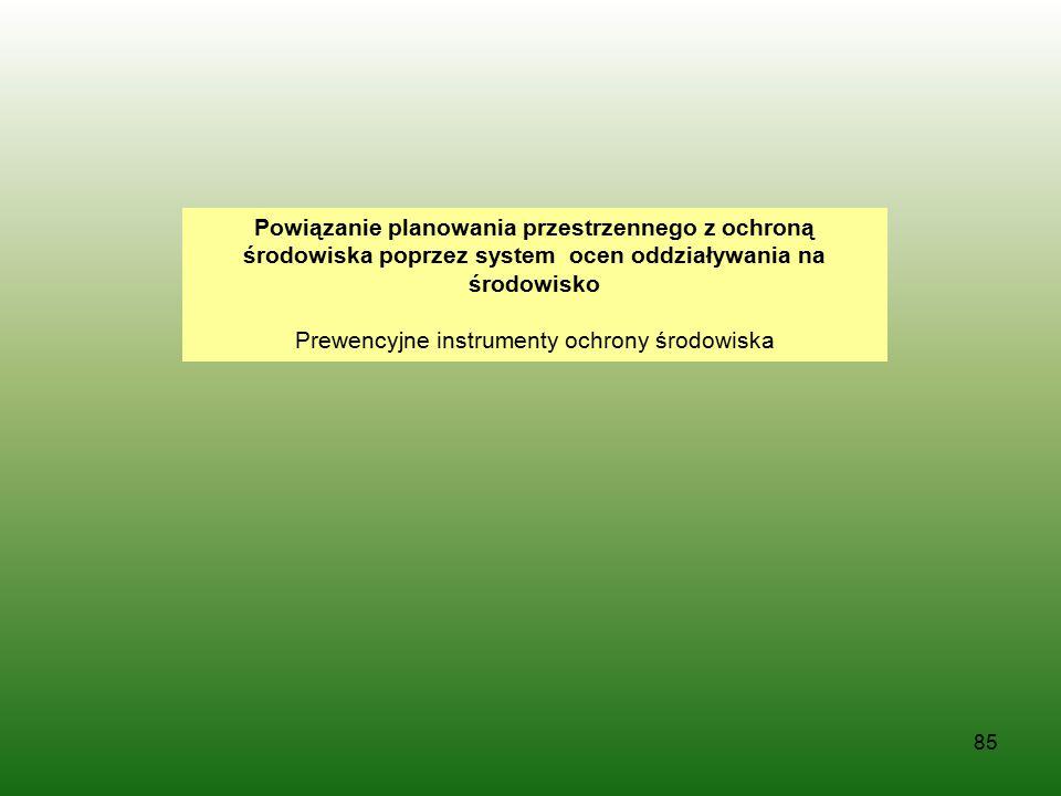 Prewencyjne instrumenty ochrony środowiska
