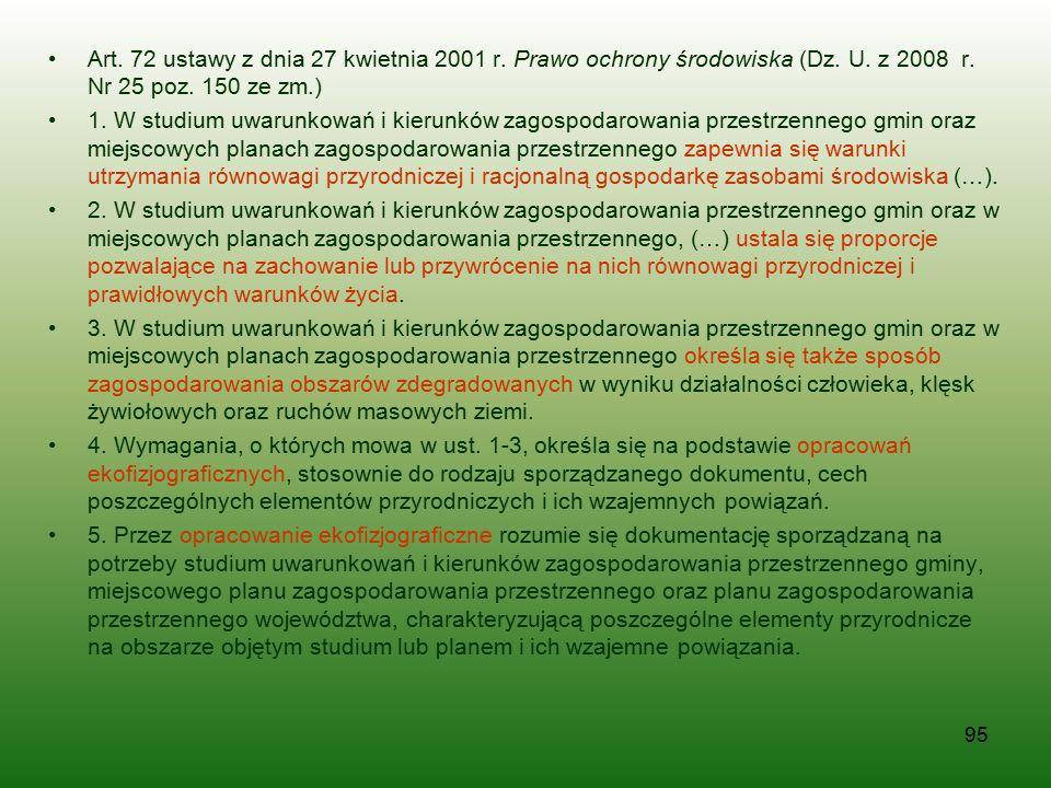Art. 72 ustawy z dnia 27 kwietnia 2001 r. Prawo ochrony środowiska (Dz