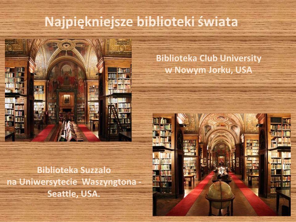 Najpiękniejsze biblioteki świata