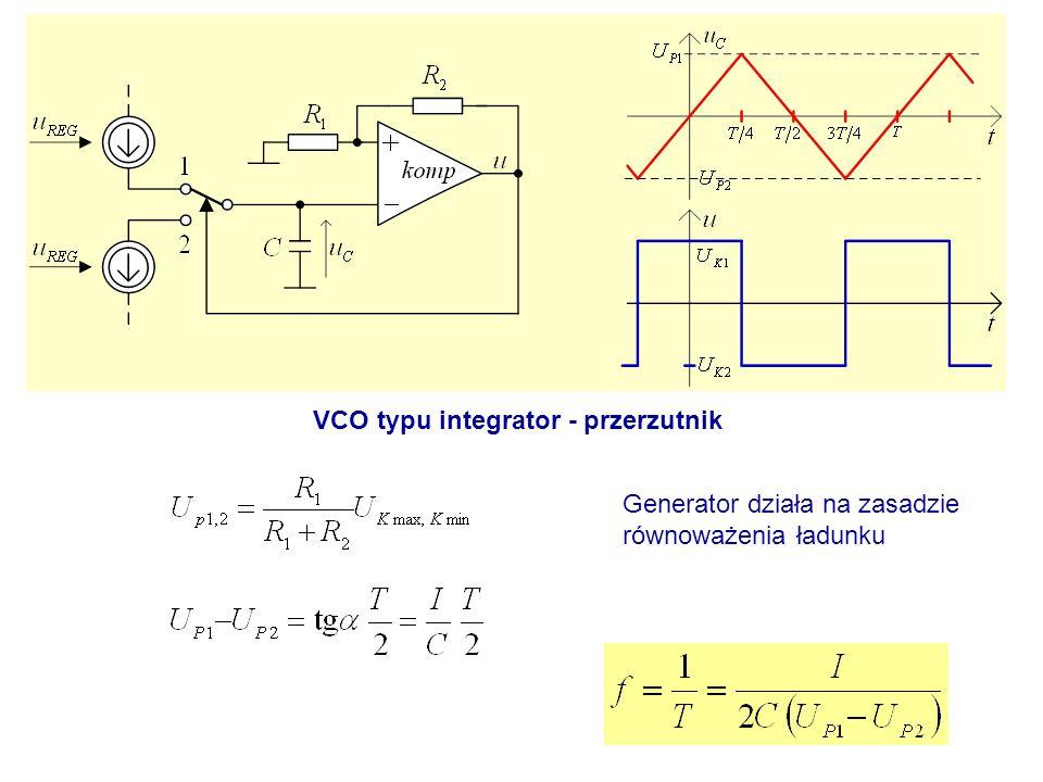 VCO typu integrator - przerzutnik