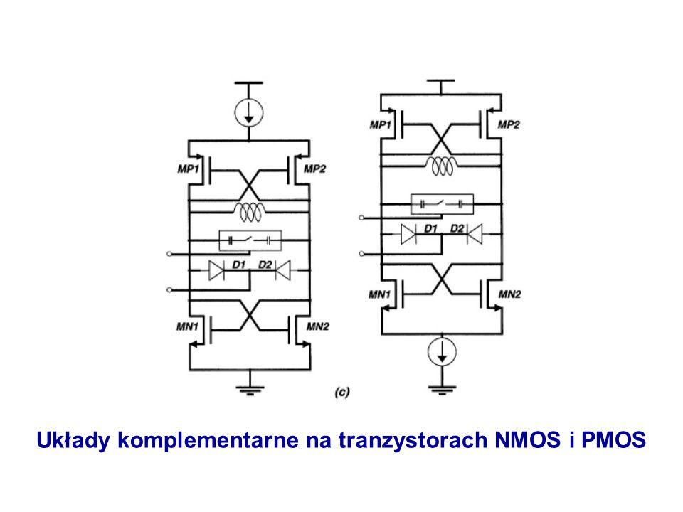 Układy komplementarne na tranzystorach NMOS i PMOS