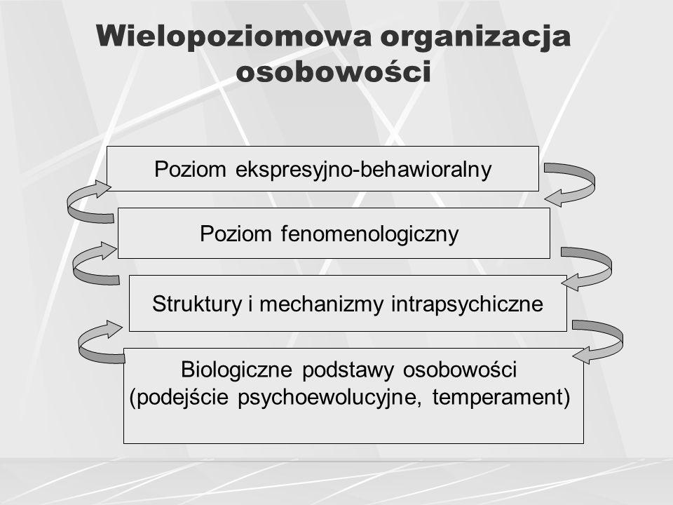 Wielopoziomowa organizacja osobowości