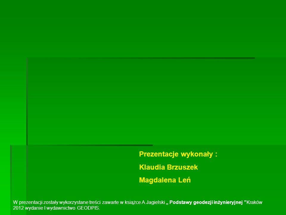 Prezentacje wykonały : Klaudia Brzuszek Magdalena Leń