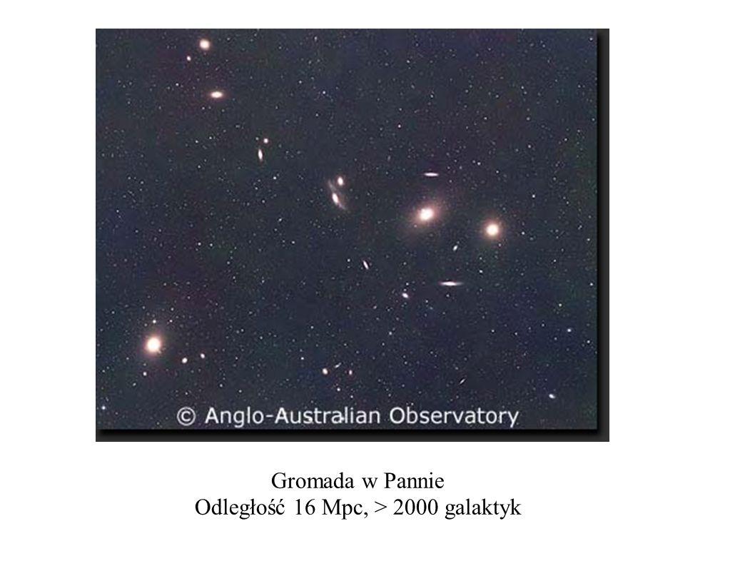 Odległość 16 Mpc, > 2000 galaktyk