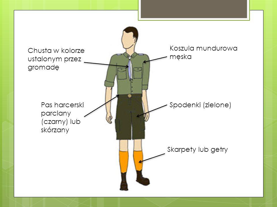Koszula mundurowa męska