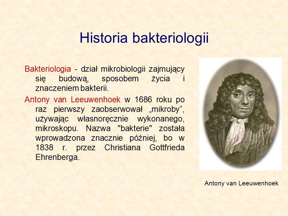 Historia bakteriologii