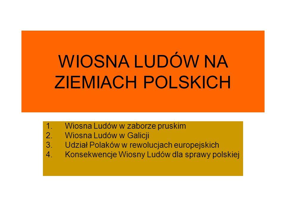 WIOSNA LUDÓW NA ZIEMIACH POLSKICH