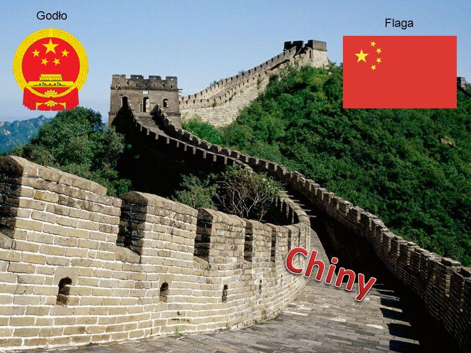 Godło Flaga Chiny