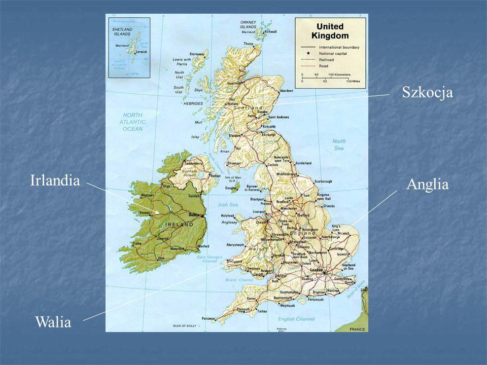 Szkocja Irlandia Anglia Walia
