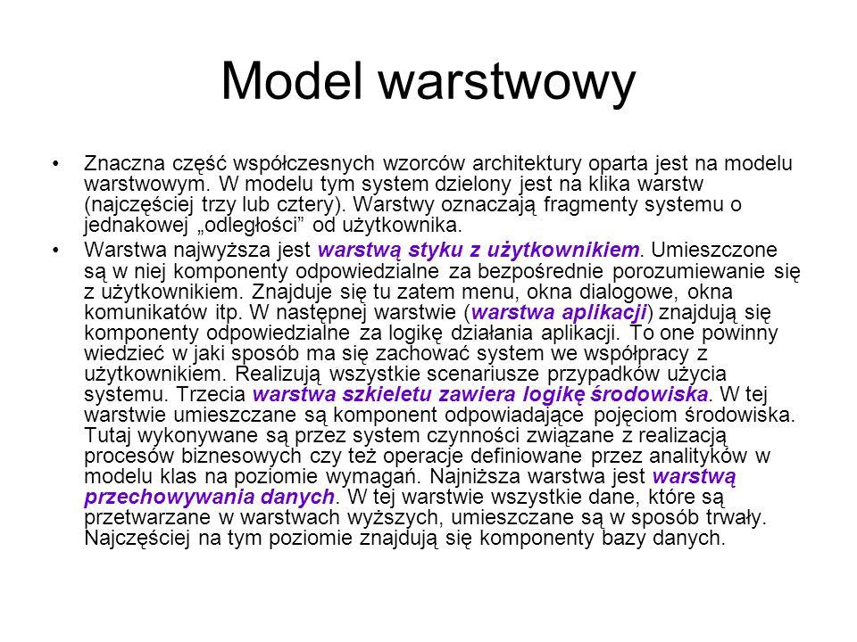 Model warstwowy