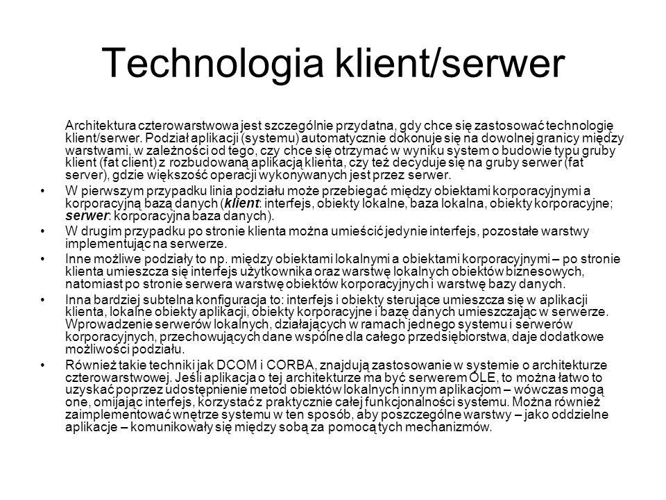 Technologia klient/serwer
