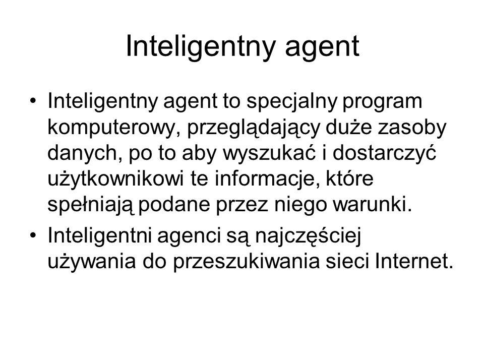 Inteligentny agent