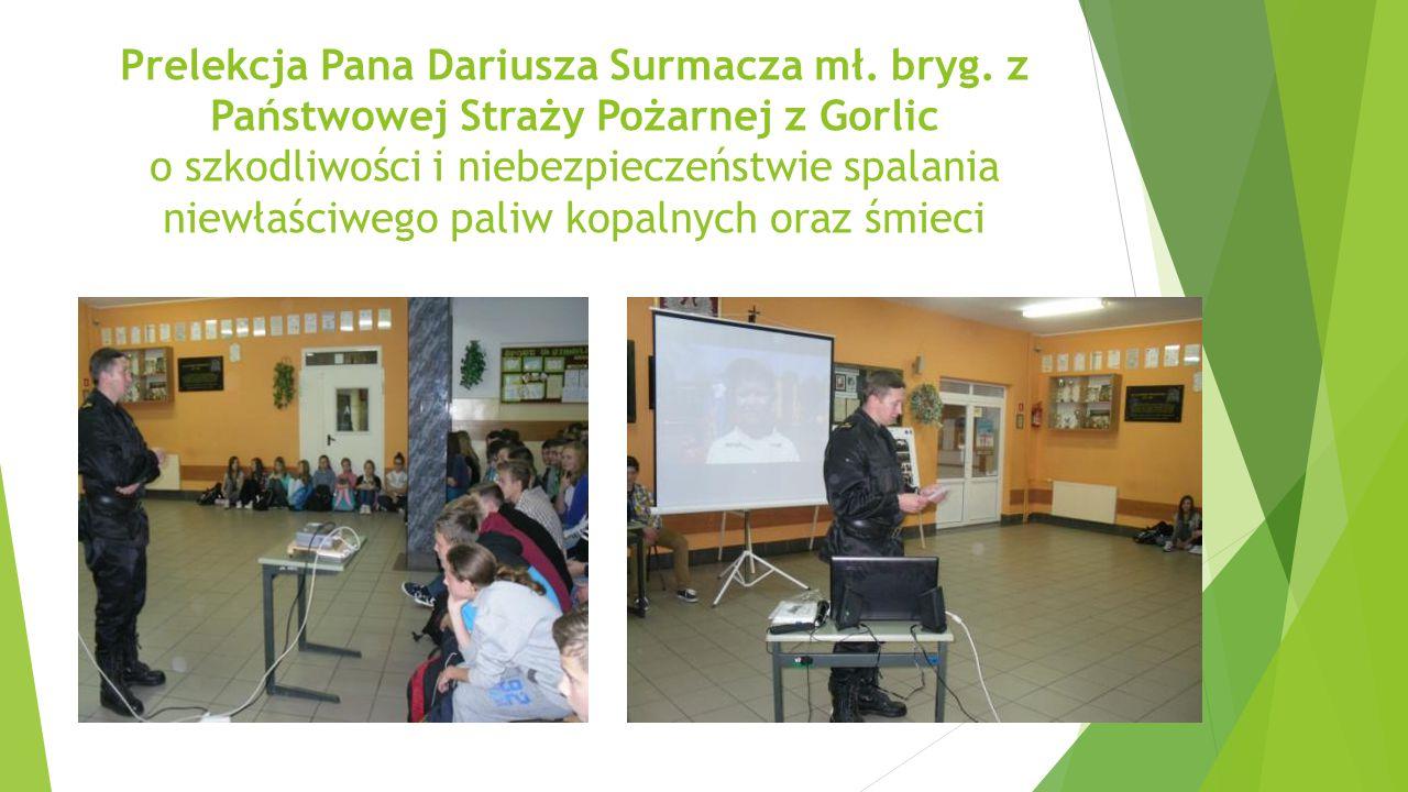 Prelekcja Pana Dariusza Surmacza mł. bryg