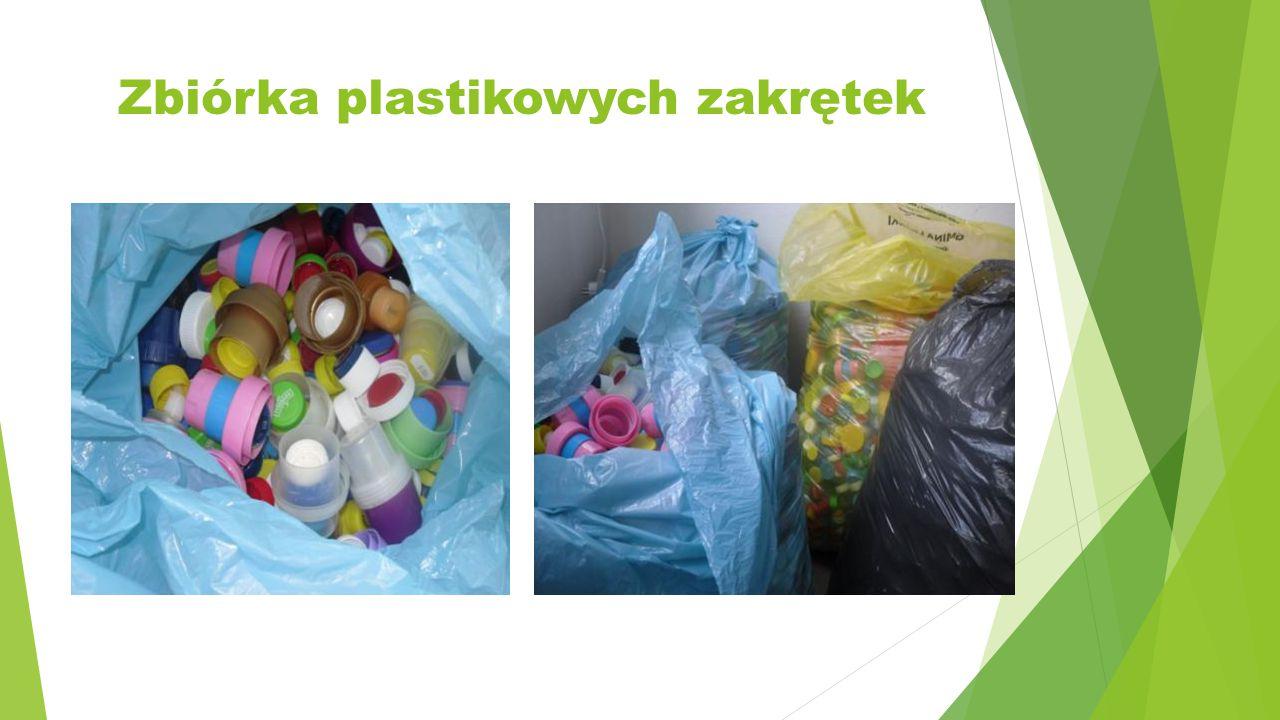 Zbiórka plastikowych zakrętek