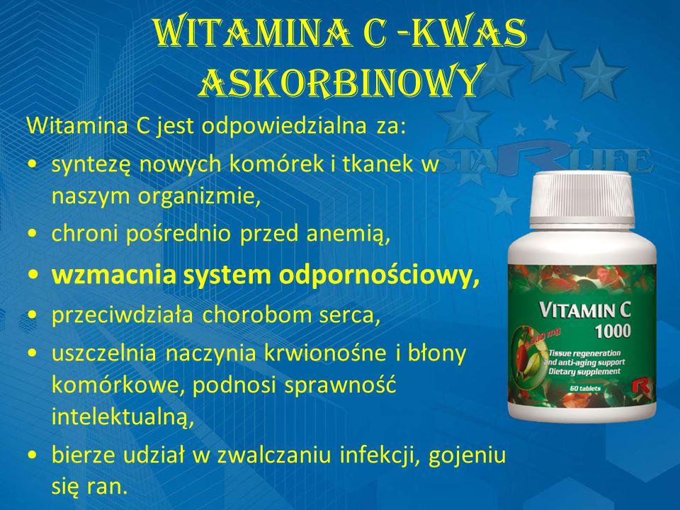 Witamina C -kwas askorbinowy