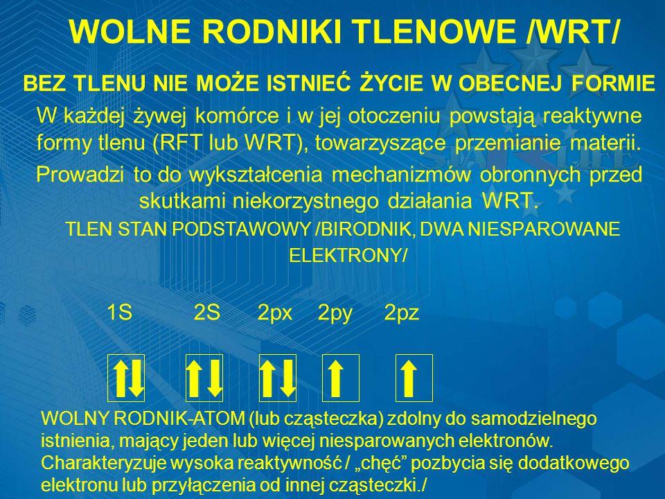 WOLNE RODNIKI TLENOWE /WRT/