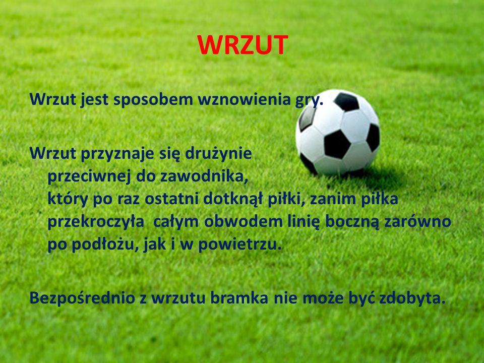 WRZUT Wrzut jest sposobem wznowienia gry.