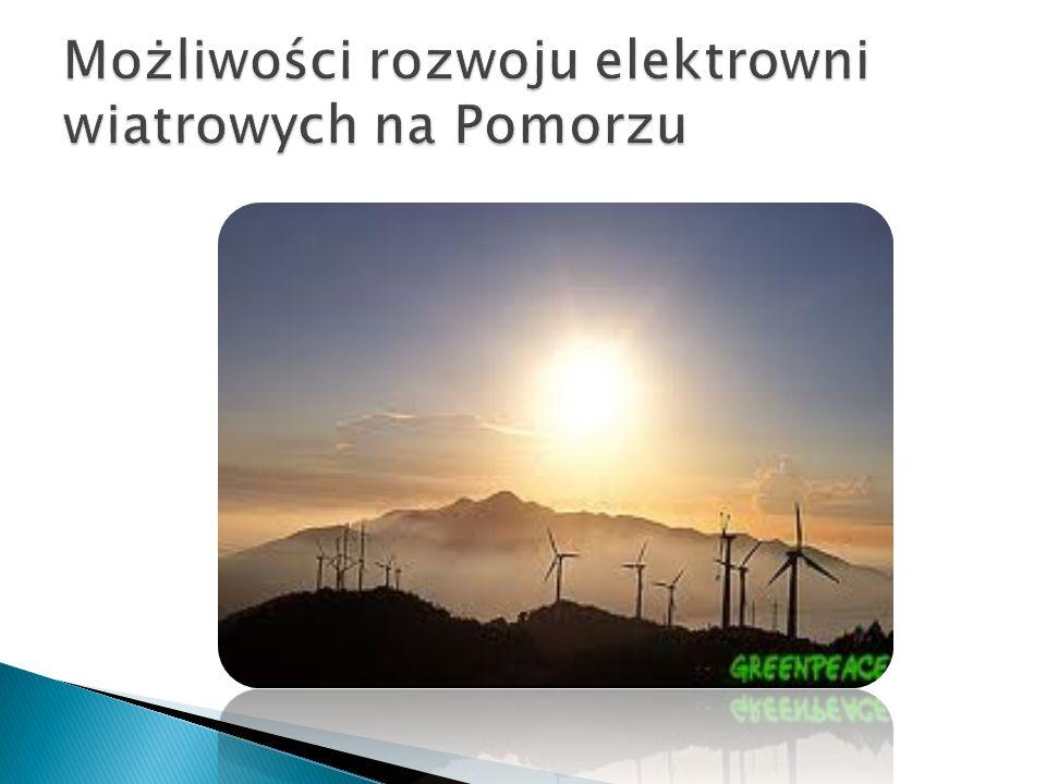 Możliwości rozwoju elektrowni wiatrowych na Pomorzu