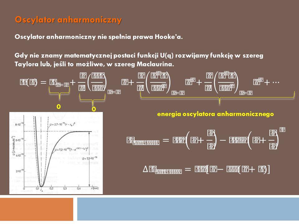 Oscylator anharmoniczny