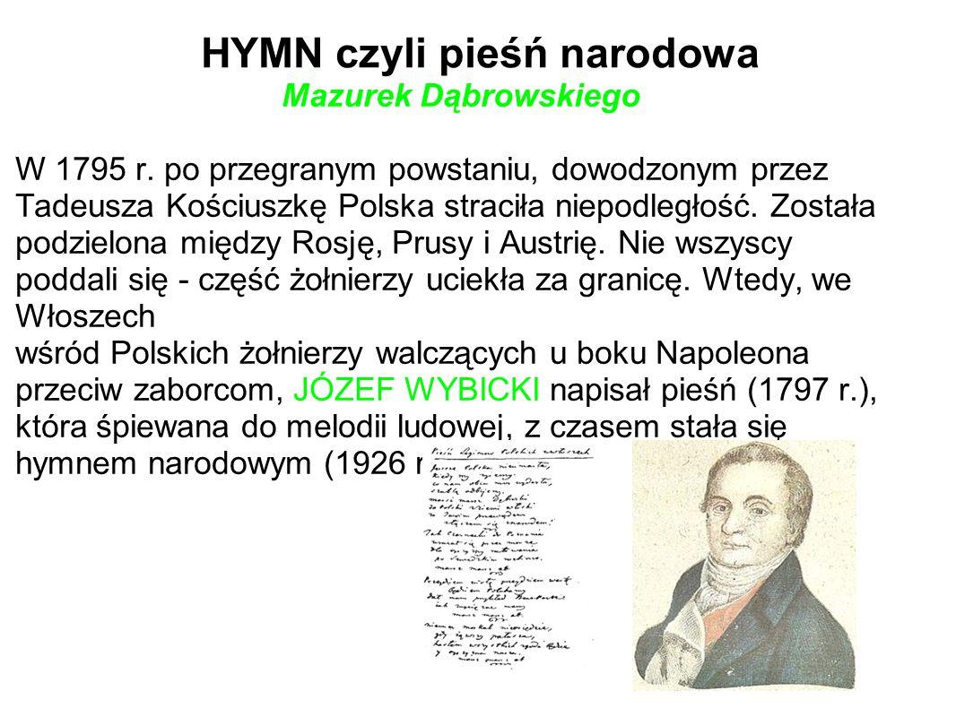 HYMN czyli pieśń narodowa