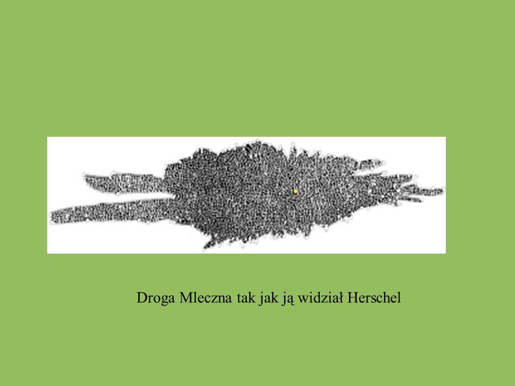 Droga Mleczna tak jak ją widział Herschel