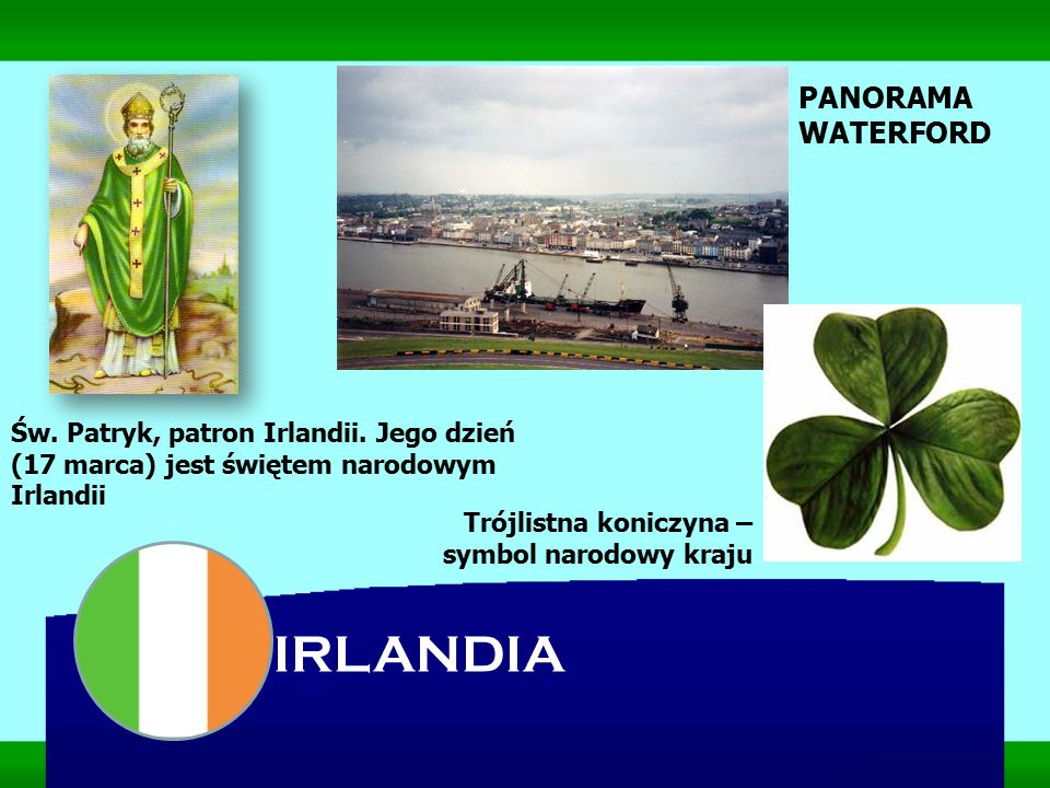 IRLANDIA PANORAMA WATERFORD