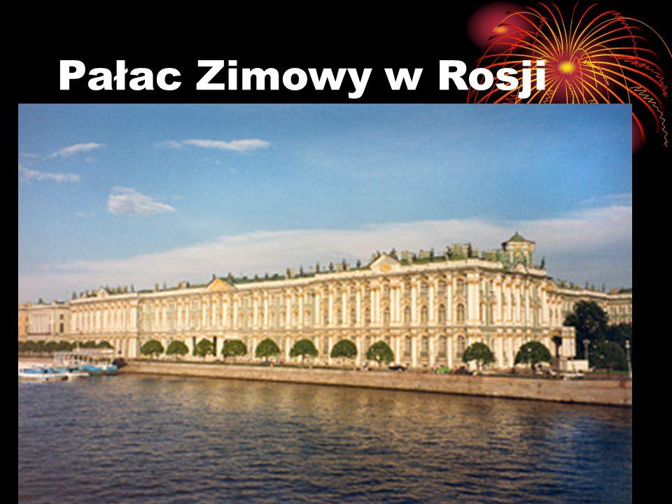 Pałac Zimowy w Rosji