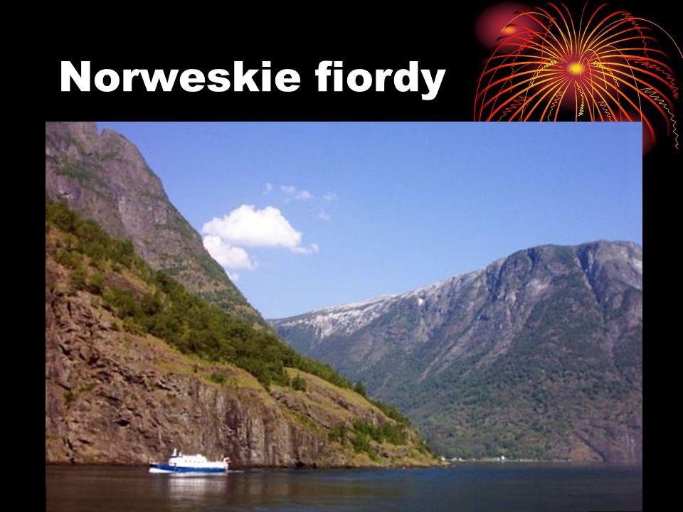 Norweskie fiordy