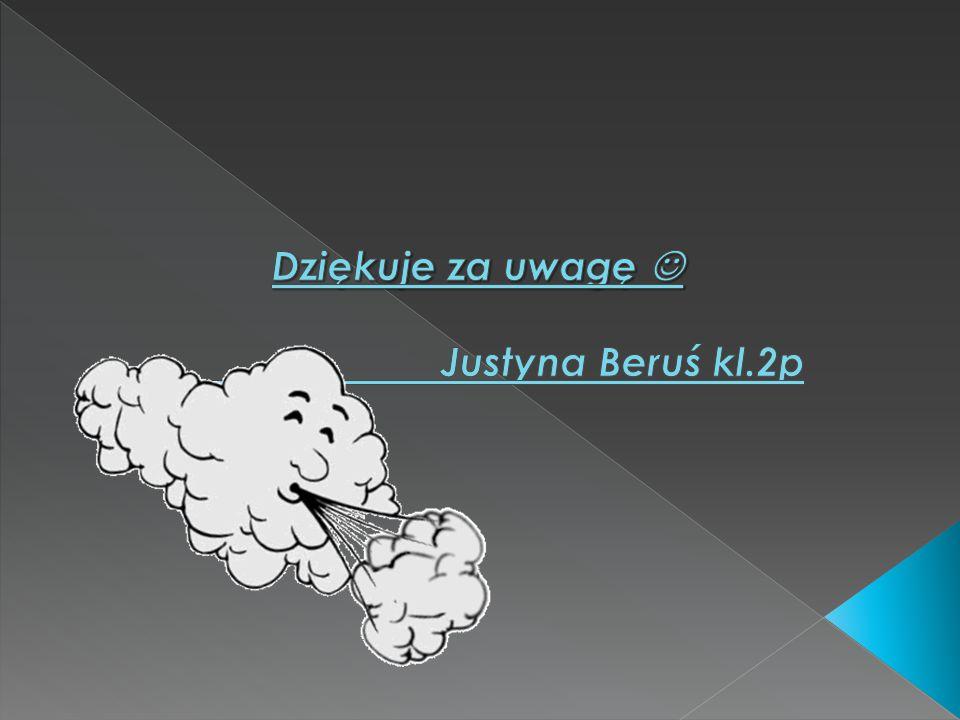 Dziękuje za uwagę  Justyna Beruś kl.2p