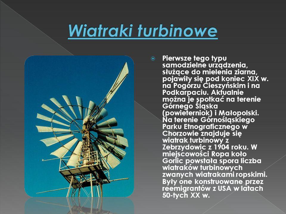 Wiatraki turbinowe