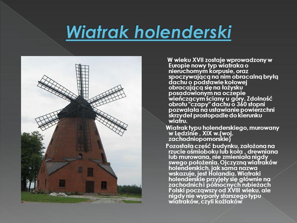 Wiatrak holenderski