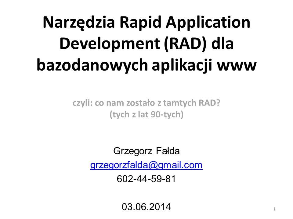 Grzegorz Fałda grzegorzfalda@gmail.com 602-44-59-81 03.06.2014
