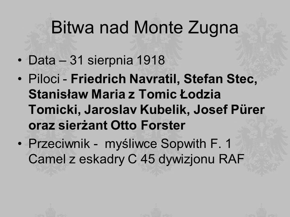 Bitwa nad Monte Zugna Data – 31 sierpnia 1918