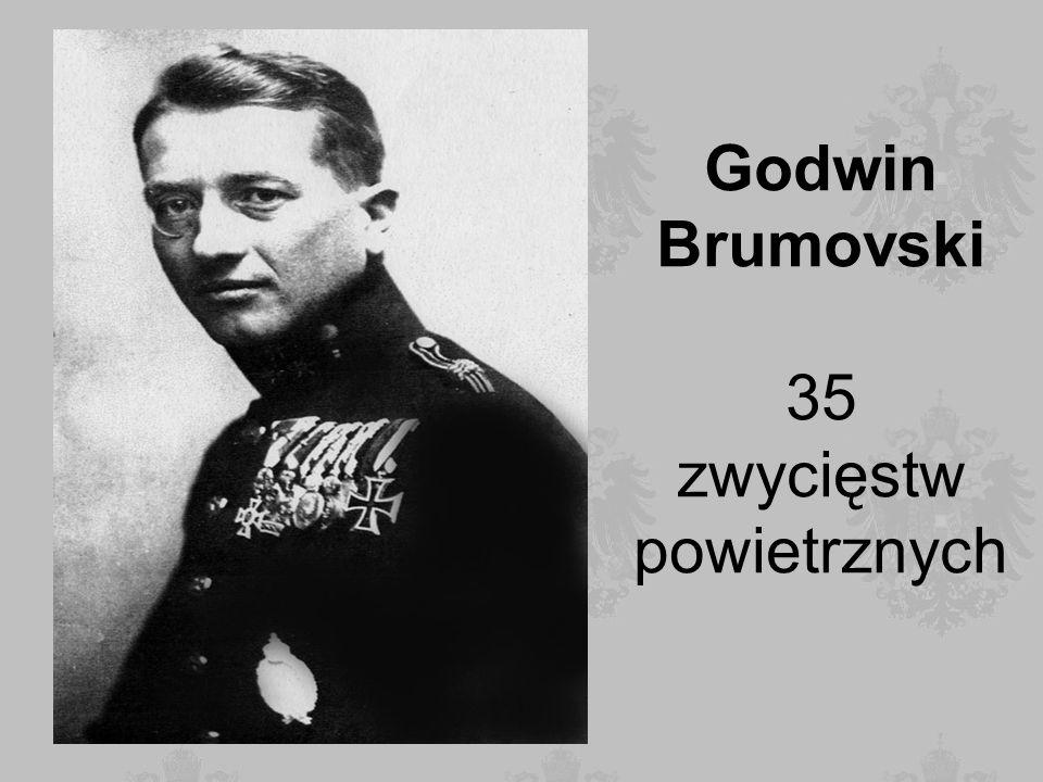 Godwin Brumovski 35 zwycięstw powietrznych