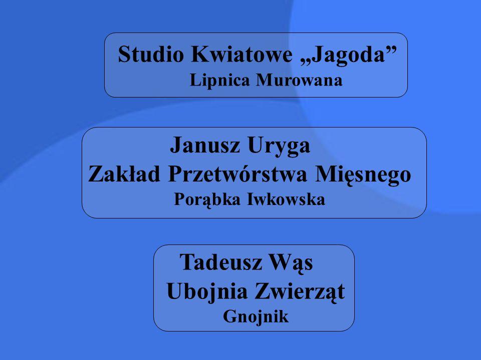 "Studio Kwiatowe ""Jagoda Lipnica Murowana"