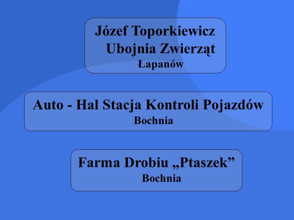 Józef Toporkiewicz Ubojnia Zwierząt Łapanów