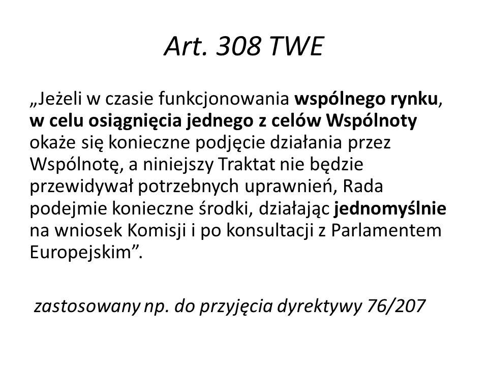Art. 308 TWE