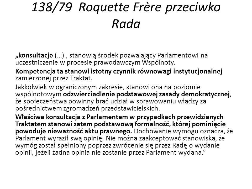 138/79 Roquette Frère przeciwko Rada