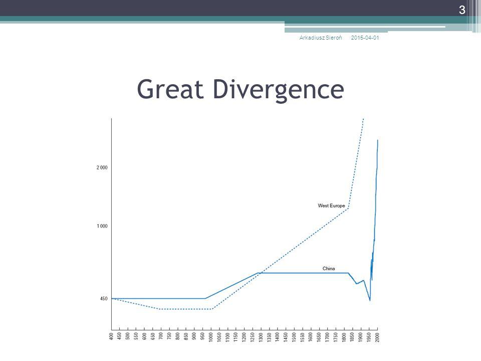 Arkadiusz Sieroń 2017-04-09 Great Divergence
