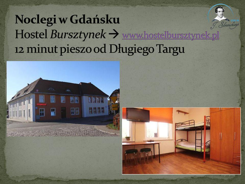 Noclegi w Gdańsku Hostel Bursztynek  www. hostelbursztynek