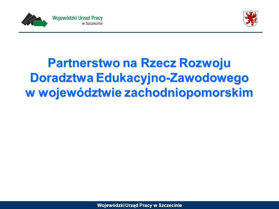 Partnerstwo na Rzecz Rozwoju Doradztwa Edukacyjno-Zawodowego w województwie zachodniopomorskim