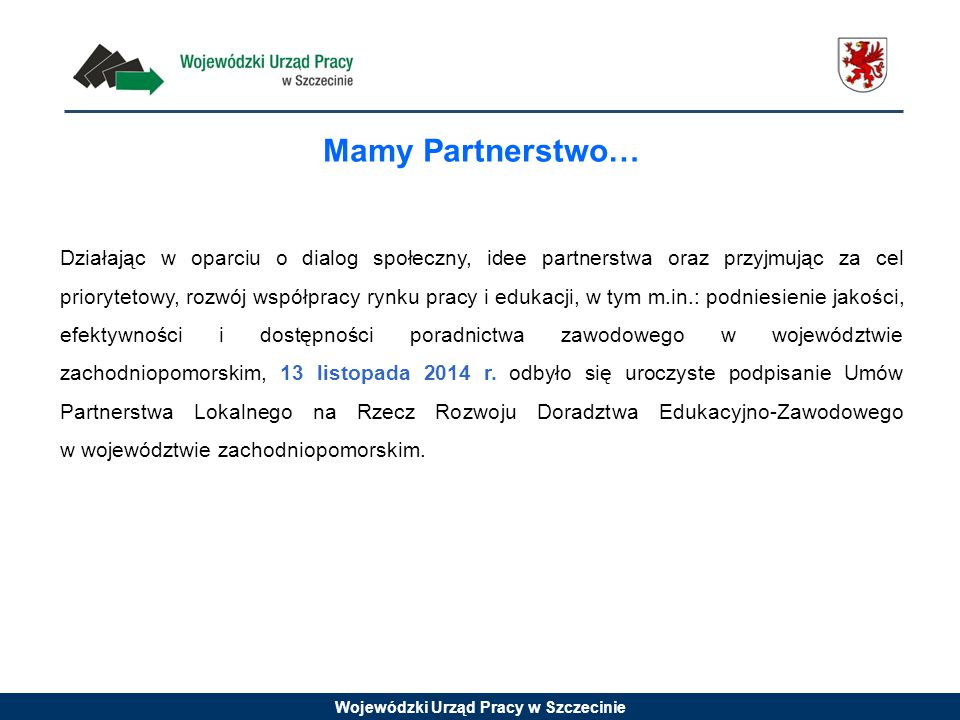 Mamy Partnerstwo…
