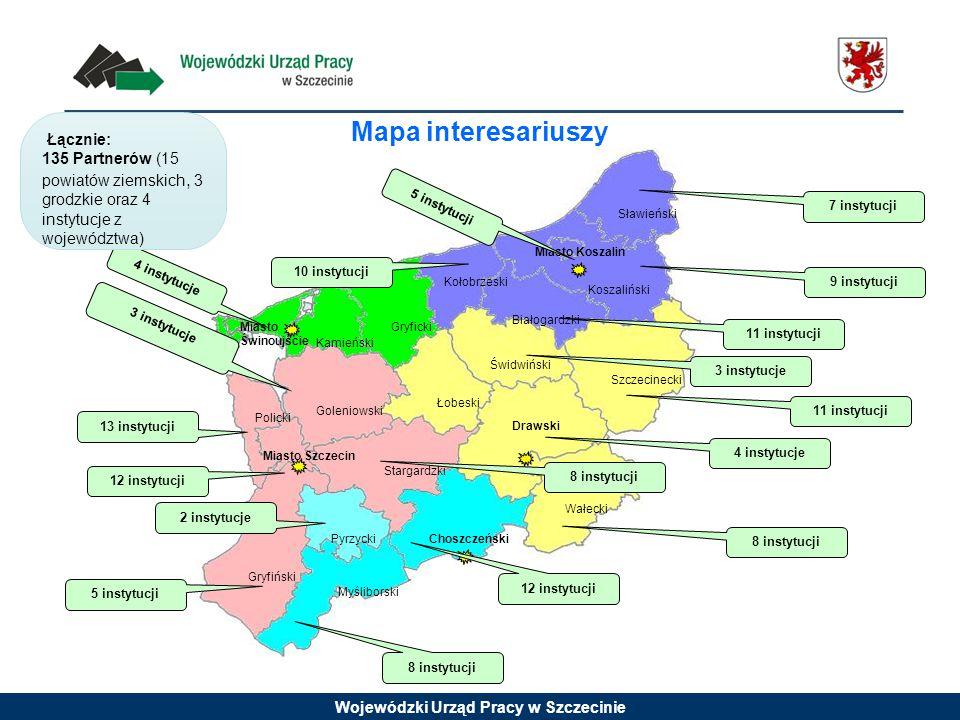 Mapa interesariuszy Łącznie: