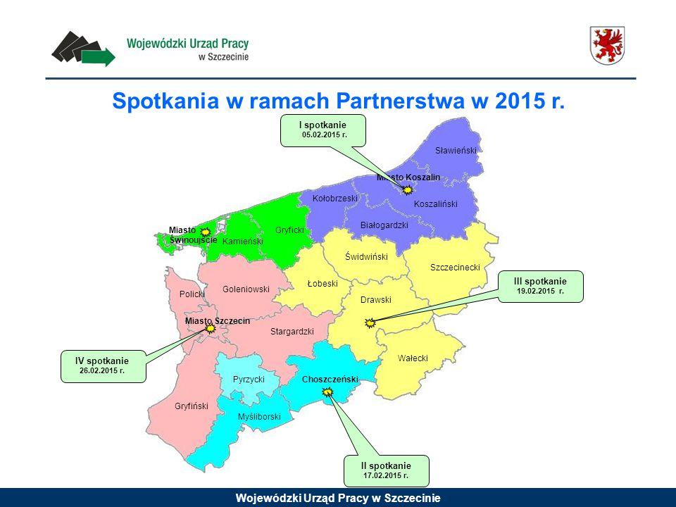 Spotkania w ramach Partnerstwa w 2015 r.