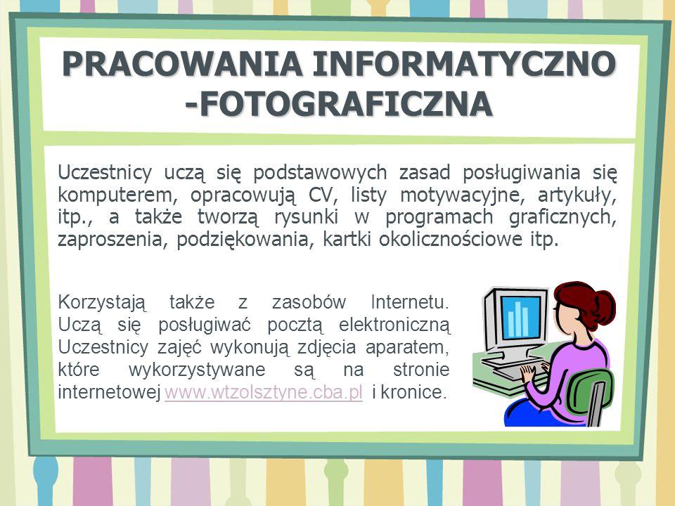 PRACOWANIA INFORMATYCZNO -FOTOGRAFICZNA
