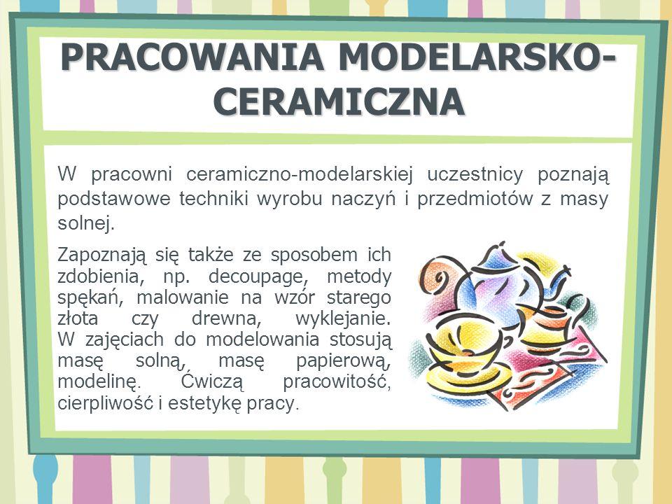 PRACOWANIA MODELARSKO-CERAMICZNA