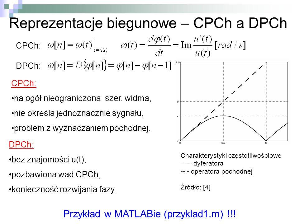 Reprezentacje biegunowe – CPCh a DPCh